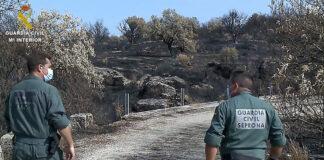 Detenido el presunto autor del incendio de Hinojos