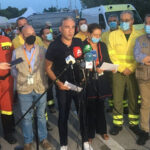 Vecinos de Estepona y Benahavís regresan a sus casas tras ser desalojados por el incendio de Sierra Bermeja