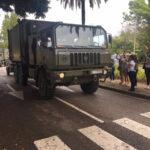 Vecinos de Estepona despiden como héroes a los efectivos de la UME