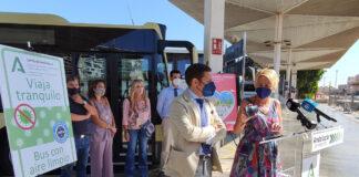 Almería dota a su flota de autobuses metropolitanos de purificadores de aire