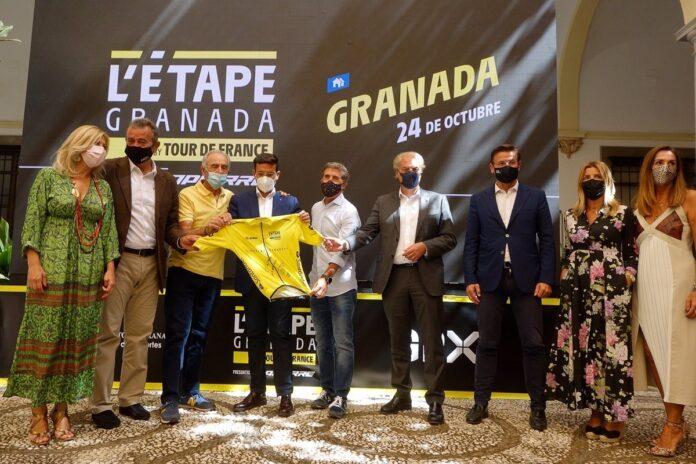 L'Etape del Tour de Francia llegará a Granada el 24 de octubre