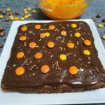 Receta otoñal: brownie cheesecake de calabaza