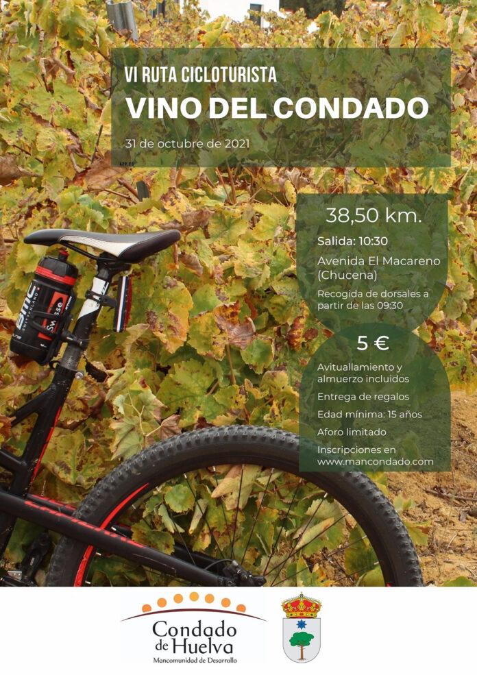 Huelva recupera su Ruta Cicloturista Vino del Condado