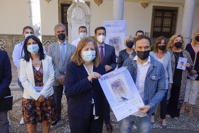 Granada dedica su XVII Festival Internacional de Poesía a Mariluz Escribano