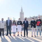 Atletas internacionales participan en la Media Maratón de Sevilla este 17 de octubre