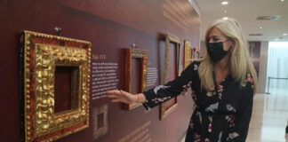 Almería acoge una exposición pionera en España sobre el marco barroco